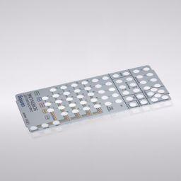Schablone für Chirurgie-Wasch-Tray CAMLOG® / CONELOG® SCREW-LINE