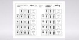 X-Ray Planungsfolie 1.25:1, für CAMLOG® SCREW-LINE Implantate